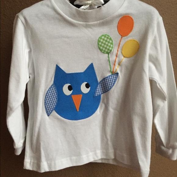 ed7f0637f Funtasia Too Shirts & Tops | Nwot Boys Owl Shirt And Pant Set 2t ...